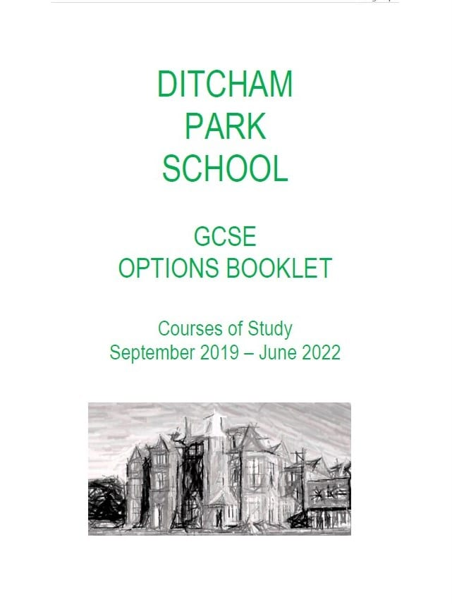 GCSE Options Booklet